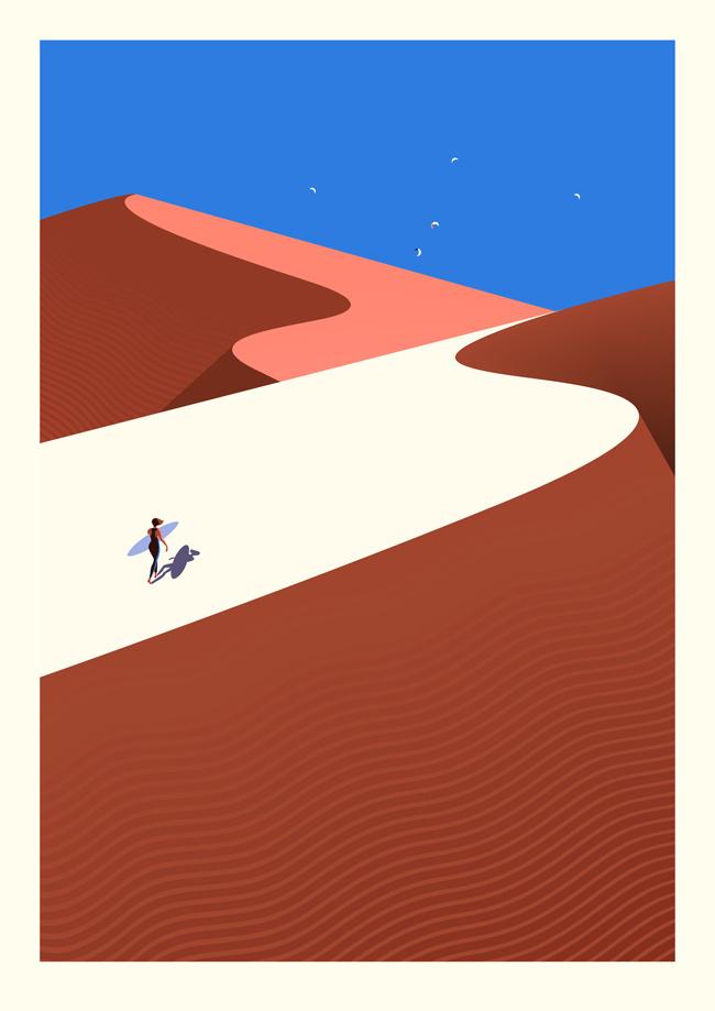 #ONTHEDRAW   Fuerteventura by Malika Favre