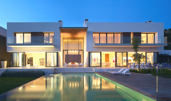 Spectacular Spanish Villa Surrounded by a Breathtaking Scenery #architecture #modern