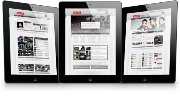 Last.fm Website Redesign on the Behance Network #pages #page #ipad #design #website #mobile #web #last