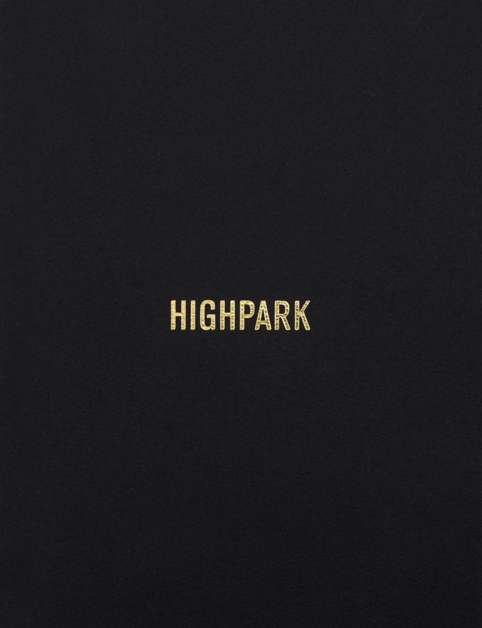 Highpark #property #gold #foil #stamped #development