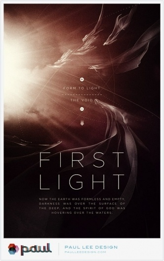 Paul Lee Design #first #print #design #lee #illustration #poster #light #paul