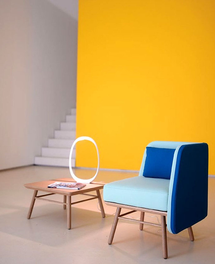 Color Seat by Two.Six #chair #furniture #seat #design
