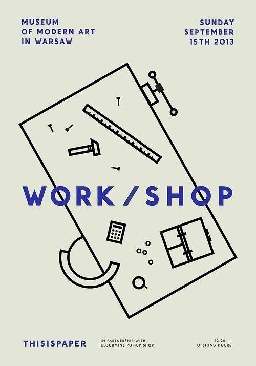 Work / Shop #minimal #poster #typography