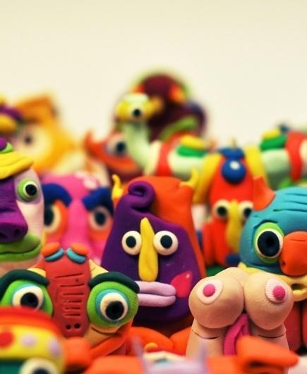 Get On the Cactus #bright #sculpture #designer #design #color #toy