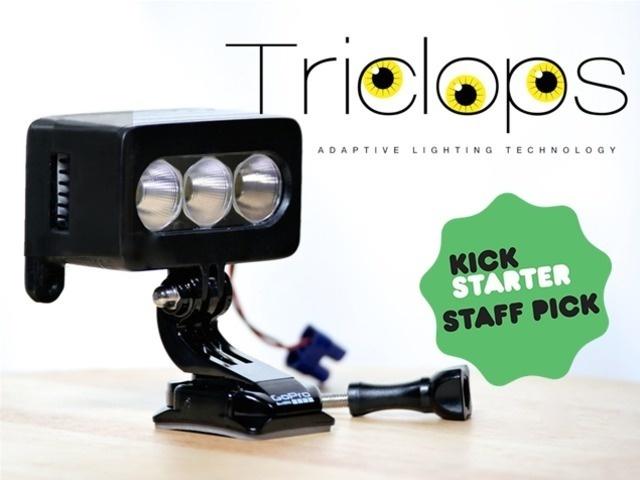 TriClops- HID Adaptive Lighting Technology #tech #flow #gadget #gift #ideas #cool