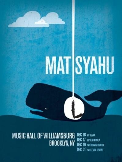 GigPosters.com - Matisyahu #logo #design #poster