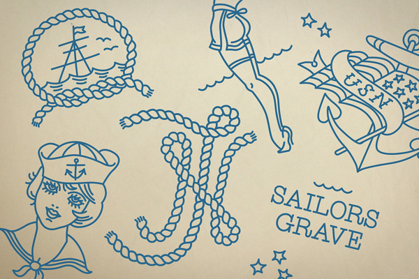 Navy Jerry's on Behance #illustration #flash #monoline