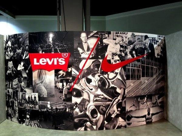 LevisBooth5.jpg (720×540) #photo #design #logo #collage #typography