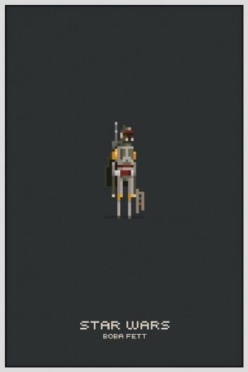 Star Wars Pixel Posters #wars #star