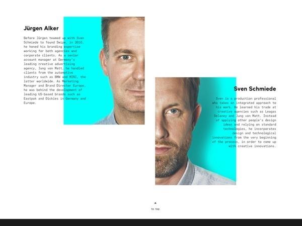 Swipe Website on Web Design Served #nice