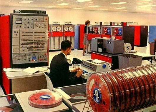 Futureness » IBM 360, 2 #computers #retro