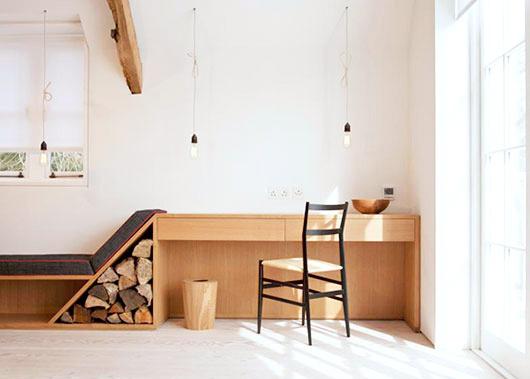 Firewood storage idea #interior #design #decor #deco #decoration