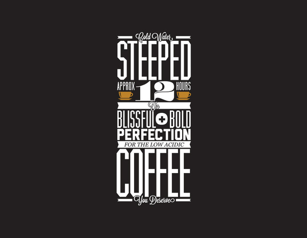 Stacked Type // Faraway Toddy Coffee