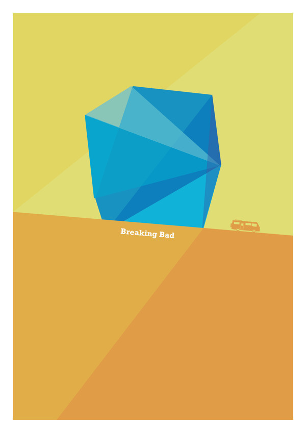 American TV Posters #vector #breaking #breakingbad #poster #darrenhealeycom #bad