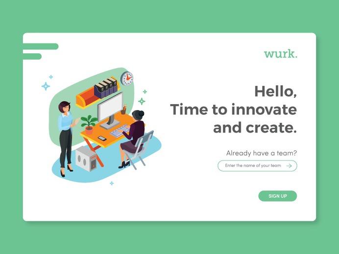 Wurk. Log In by Shakira Yanti