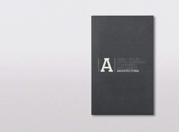 Arquitecturia #book #cover #identity #logo #layout #txellgracia