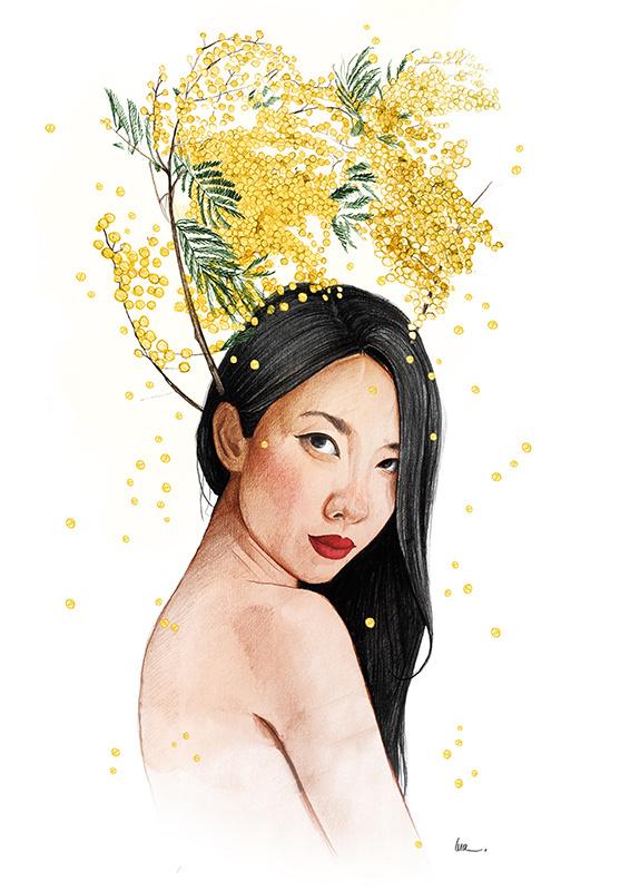 #girl#illustration