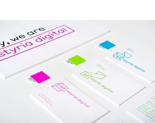Styria Digital Branding on Behance #branding