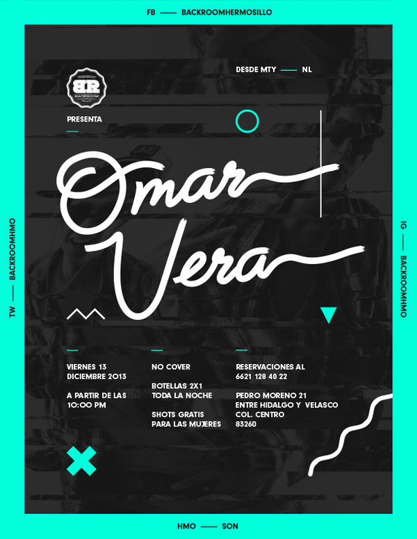 flyer #poster #music #flyer #green #black #neon #mexico #mxico #djs