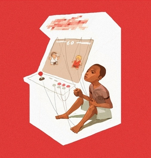 Works on the Behance Network #sachin #video #illustration #games #teng