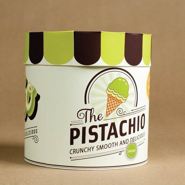 http://www.inspirationde.com/image/13558/ #packaging #cream #design #retro #ice #sweets