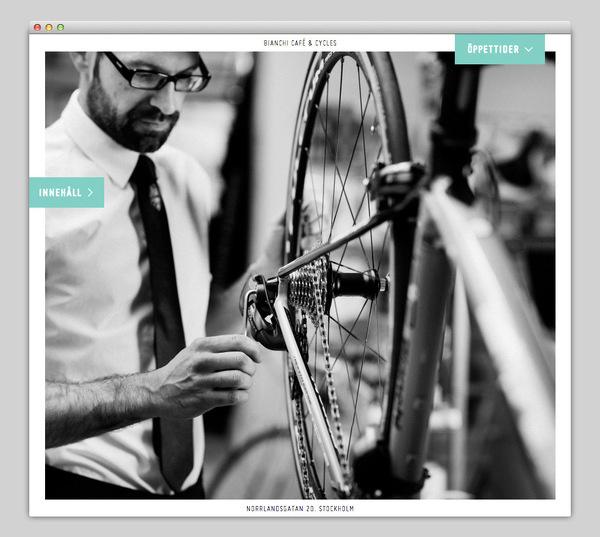 Bianchi Café & Cycles #website #layout #design #web
