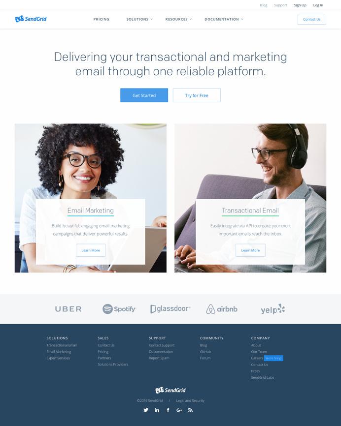 Marketing & Transactional Email Service | SendGrid | SendGrid