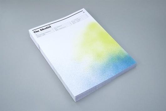FPO: The Idealist Magazine #ink #spray #publication