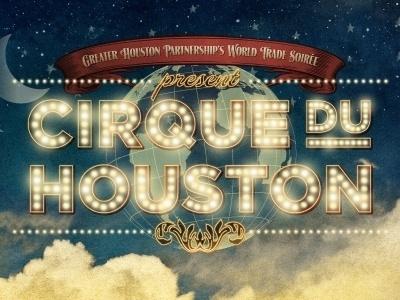Dribbble - Cirque Du Houston by Danny Zevallos #creole #lights #vintage #circus
