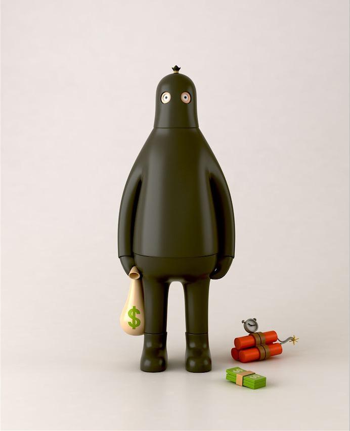 Yum Yum Toys: Toy Series One Designs   Sgustok Design