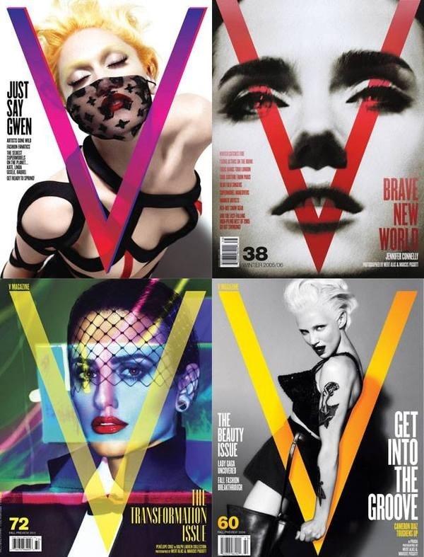 V Magazine #editorial #magazine #covers