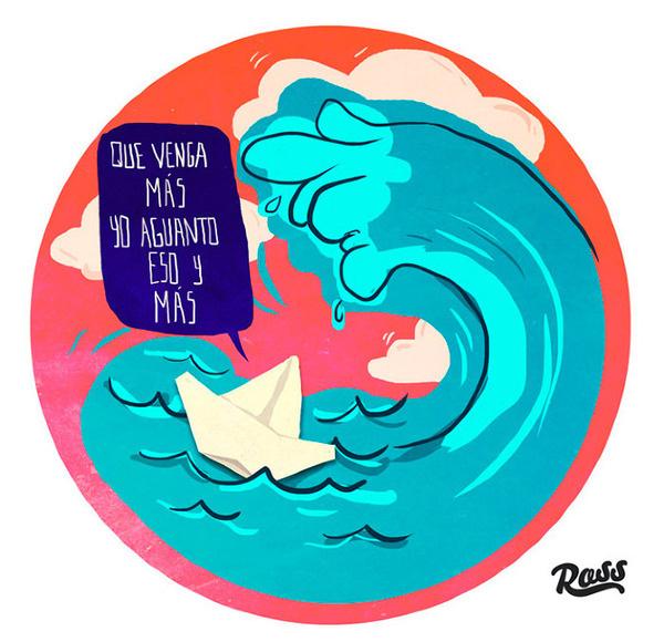 Que venga más // ross.mx #creative #design #comic #direction #illustration #art #character