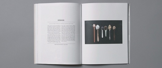 Kinfolk Magazine - Kinfolk #spoons #lifestyle #design #kinsfolk #photography #layout #editorial #magazine