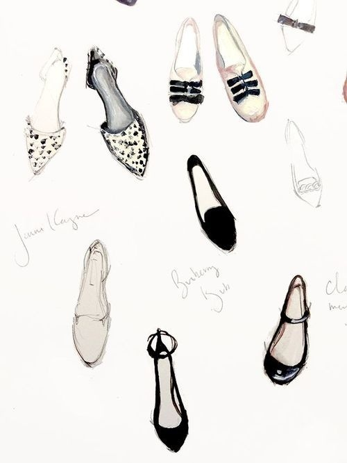 Likes | Tumblr #illustration #shoes