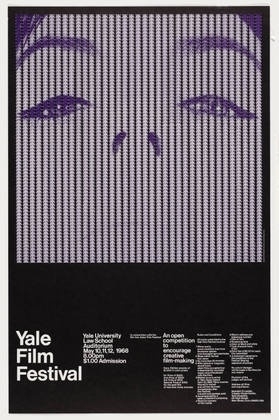 FFFFOUND! | MoMA | The Collection | Keith Godard. Yale Film Festival. 1968 #collection #the #keith #poster #godard #moma