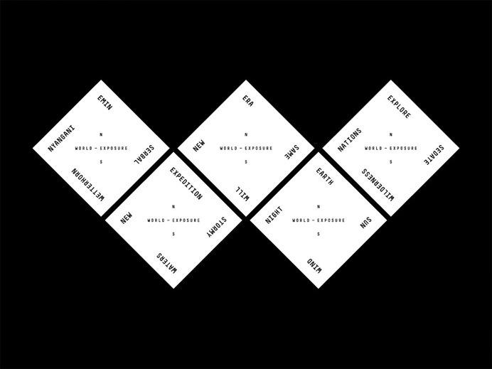 World-Exposure - Steven Camp #brand #layout #minimal #typography