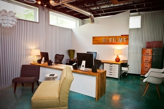 [ 3 1 F I L M S ]'s Photos - Wall Photos #office #design #architecture #31films #room