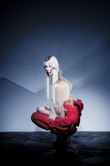 GILLES ET DADA /// TRUTH on the Behance Network #fashion #photography #red #girl