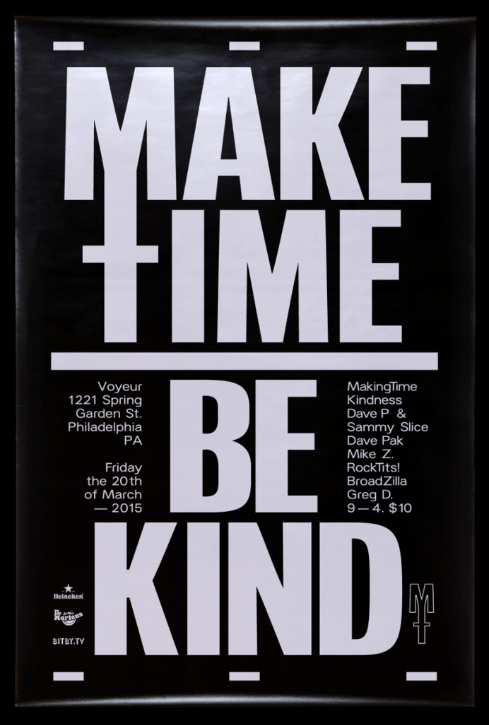 Make Time Be Kind