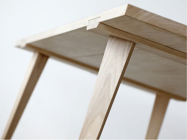 Timber Table - Wonderfully Simple Design #objects #lifestyle #design #simple #furniture #table