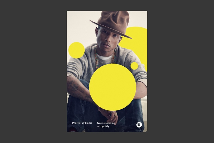 Spotify creative #spotify #promotional #circles #advertising