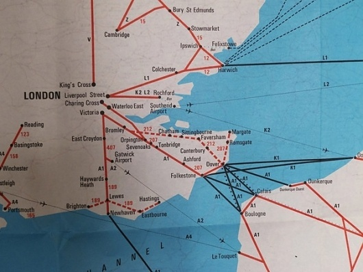 Wallace Henning - Notes #international #british #design #graphic #map #transport #rail