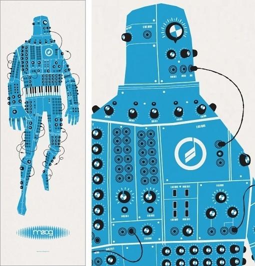 Spike Press #dopeness #illustration #poster #robot