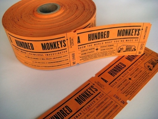 A Hundred Monkeys : mCroxton Design