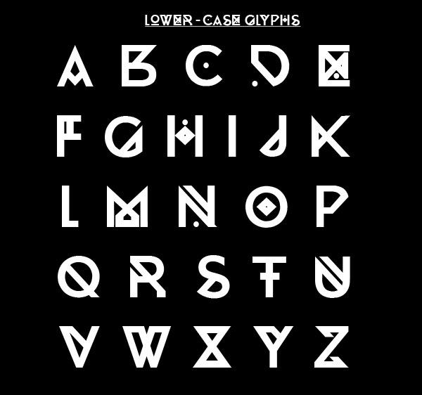 ECHELON Typeface 2012 on Behance #design #graphic #typeface