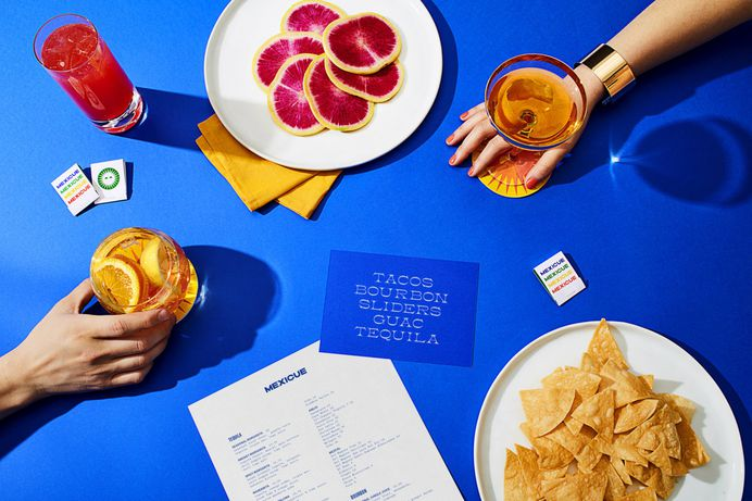 """Brand Identity for Mexicue by High Tide """"Mexicue started with a passion for real, made-from-scratch cooking that began in a food truck that traversed Manhattan and Brooklyn. We created a new branding and identity system inspired by the vibrant and..."""