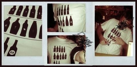 FFFFOUND! #infographics #drink #tshirt #bottle