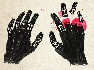 Dribbble - 7 Finger IPA by dan gneiding #illustration