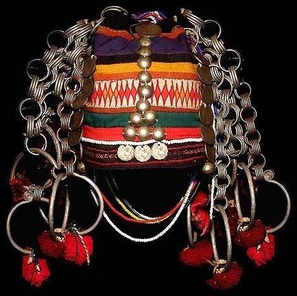 AKHA TRIBAL ARTIFACTS Laos and Thailand silver earrings headdresses textile swing ritual Akha way village spirit gate coffin rice terrace opium pipe t #fashion #tribe #art #akha