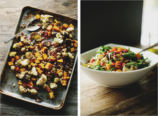 Autumn Salad with Horseradish Vinaigrette . Sprouted Kitchen #food